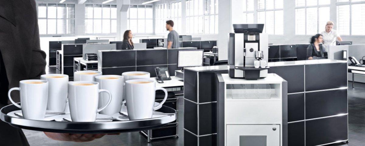 Kaffeautomater till jobbet