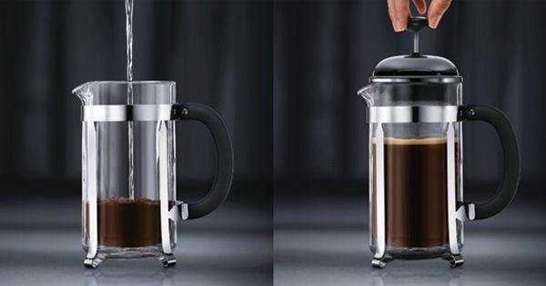 Så här brygger du kaffe med en pressobryggare