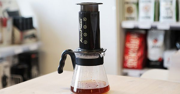 Guide - Brygg det bästa kaffet med Aeropress