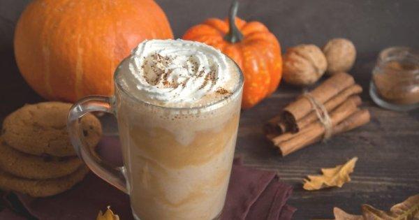 Pumpkin Spice Latte - söt pumpalatte