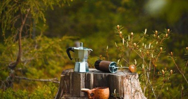 Outdoorkaffe - En kaffepaus ute i naturen