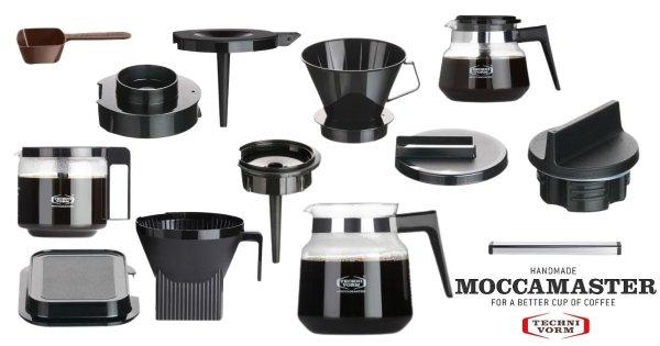 Moccamaster reservdelar - hitta rätt kanna, filterthållare mm