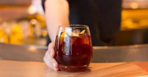 Cold Brew Rum Sour