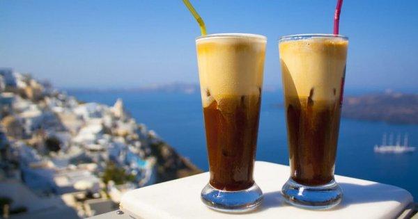 Frappé - Medelhavets iskaffe