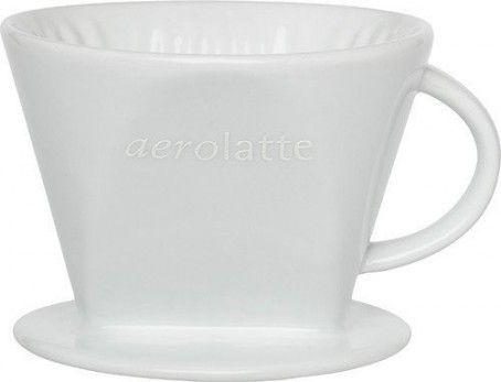 Aerolatte filterhållare i porslin Nr 4