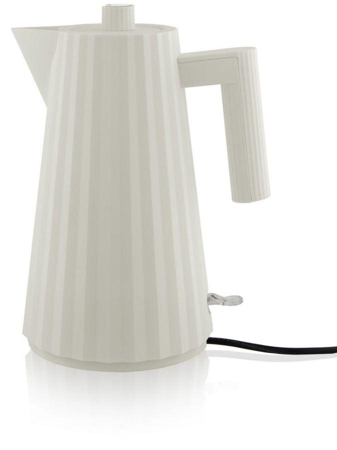 Alessi MDL06 Plissé vattenkokare 1,7 l, vit