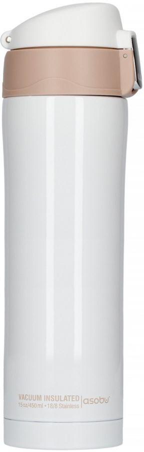 Asobu Diva termosmugg 450 ml, vit