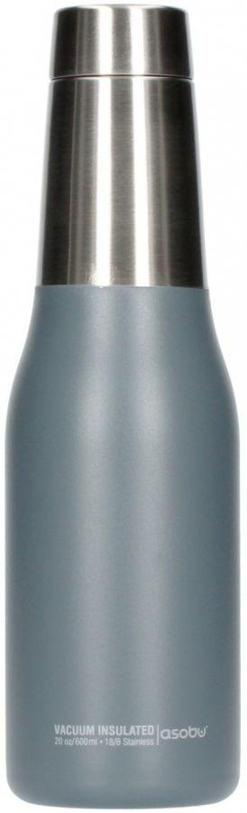 Asobu Oasis Water Bottle 600 ml, grå