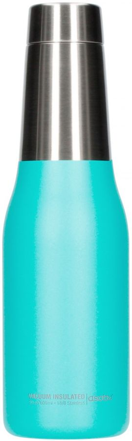 Asobu Oasis Water Bottle 600 ml, turkos