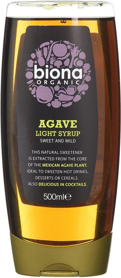 Biona Organic Agavesirap, ljus 500 ml