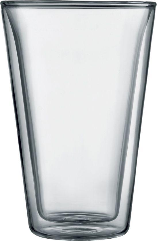 Bodum Canteen dubbelväggade glas 400 ml, 2 st.