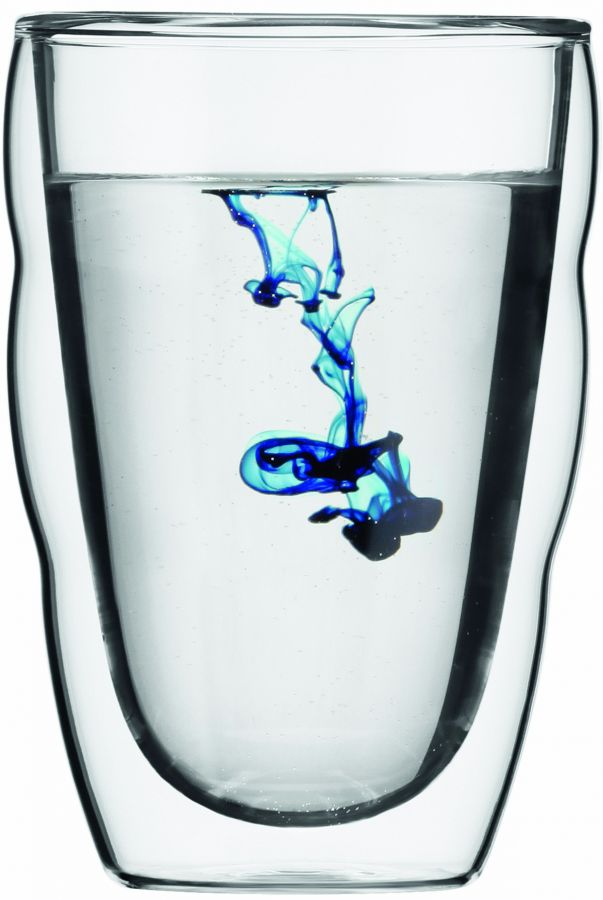 Bodum Pilatus dubbelväggade glas 350 ml, 2 st