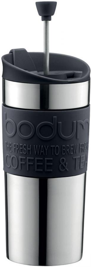 Bodum Travel Press resemugg med pressofunktion 350 ml, svart