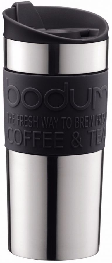 Bodum Travel Mug resemugg 350 ml, svart