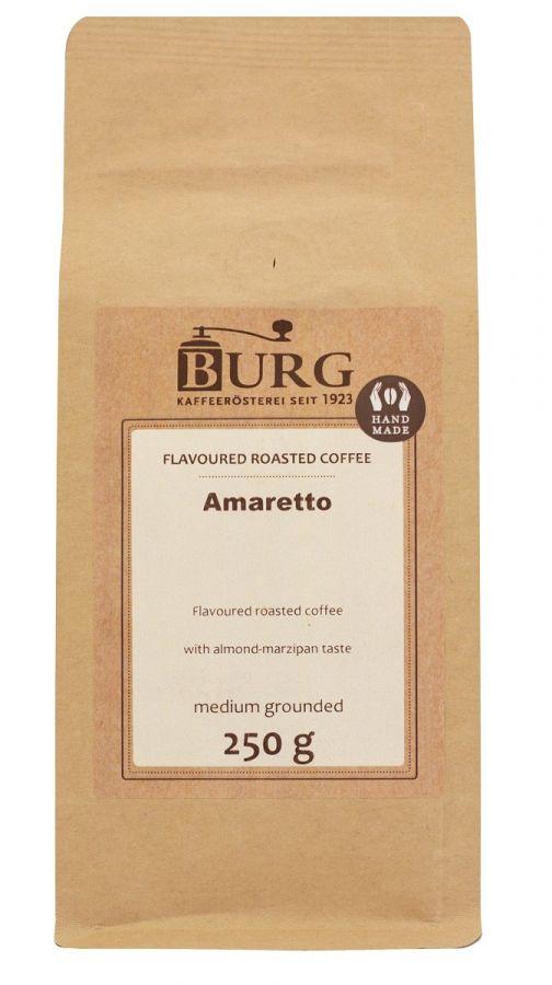 Burg smaksatt kaffe, Amaretto 250 g