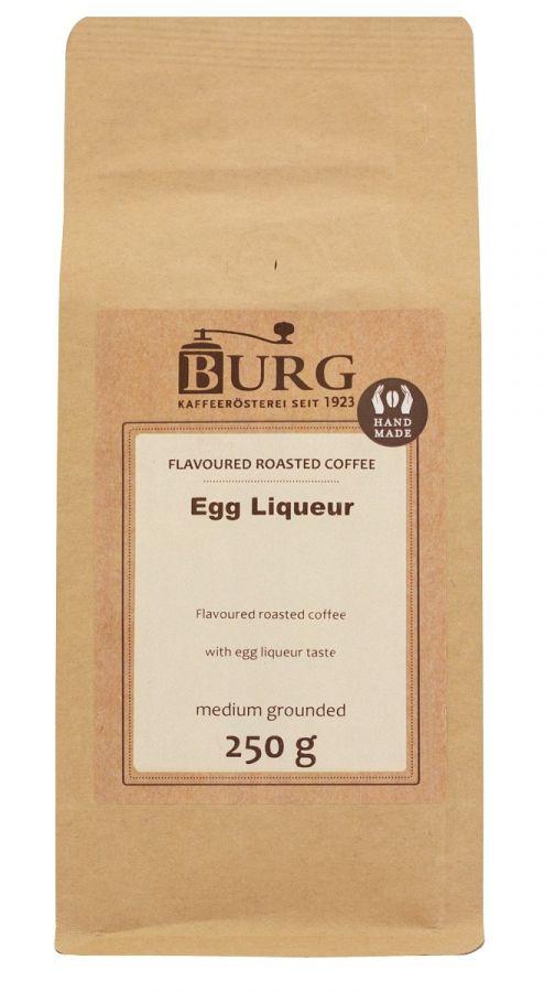 Burg smaksatt kaffe, ägglikör 250 g