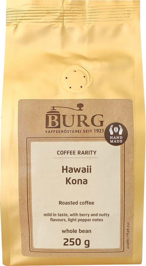 Burg Hawaii Kona 250 g kaffebönor