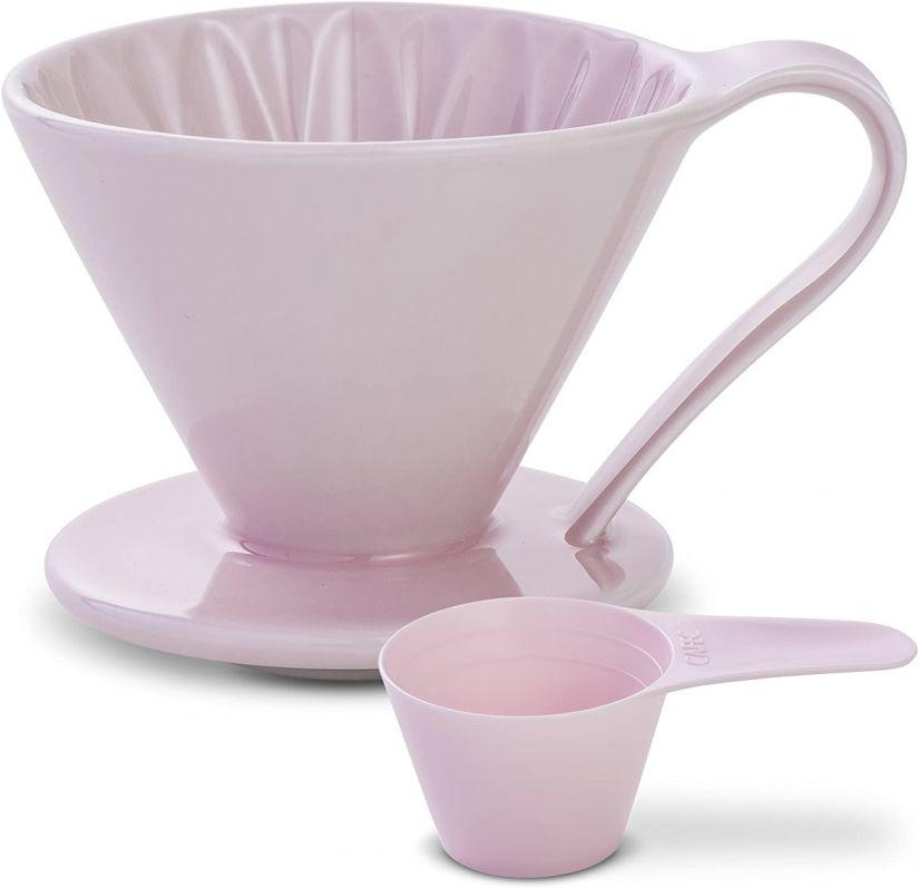 CAFEC Arita Ware Flower Dripper 4 koppar, rosa