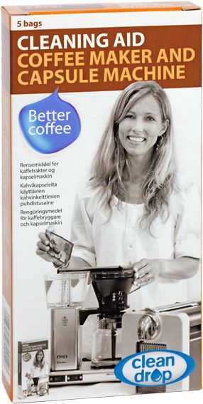 Clean Drop rengöringsmedel för kaffekokare