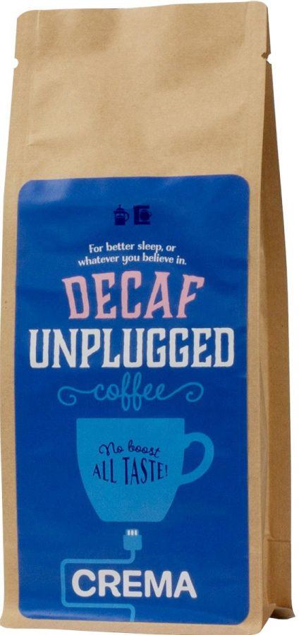 Crema Unplugged Decaf koffeinfritt kaffe 250 g
