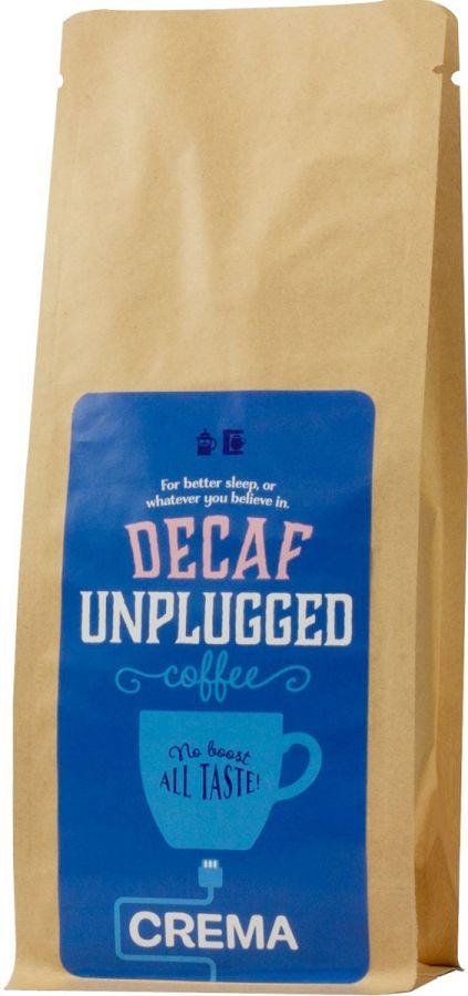 Crema Unplugged Decaf koffeinfritt kaffe 500 g