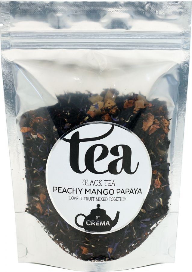 Crema Black Tea Peachy Mango Papaya 125 g