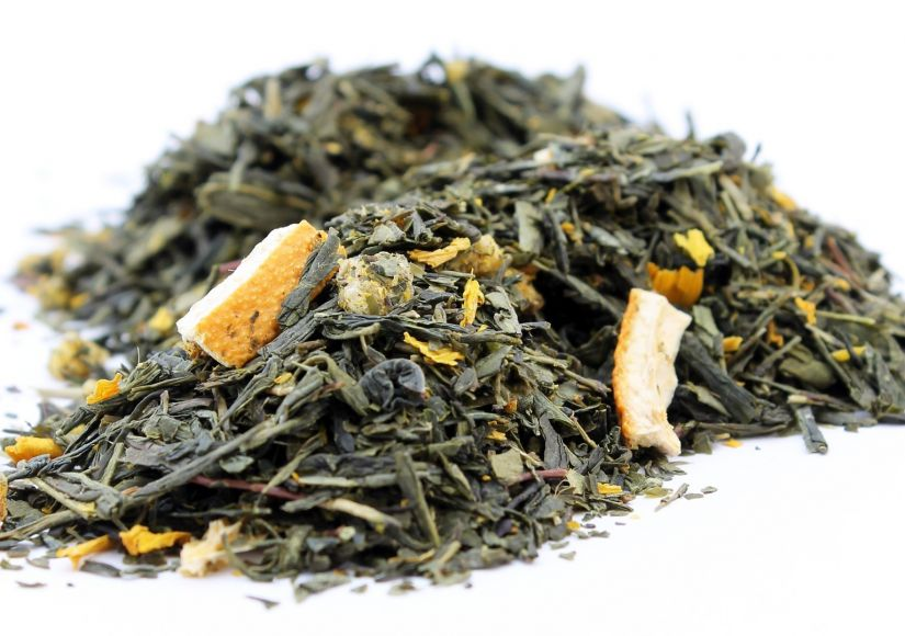 Crema Green Tea Lemon Orange 600 g