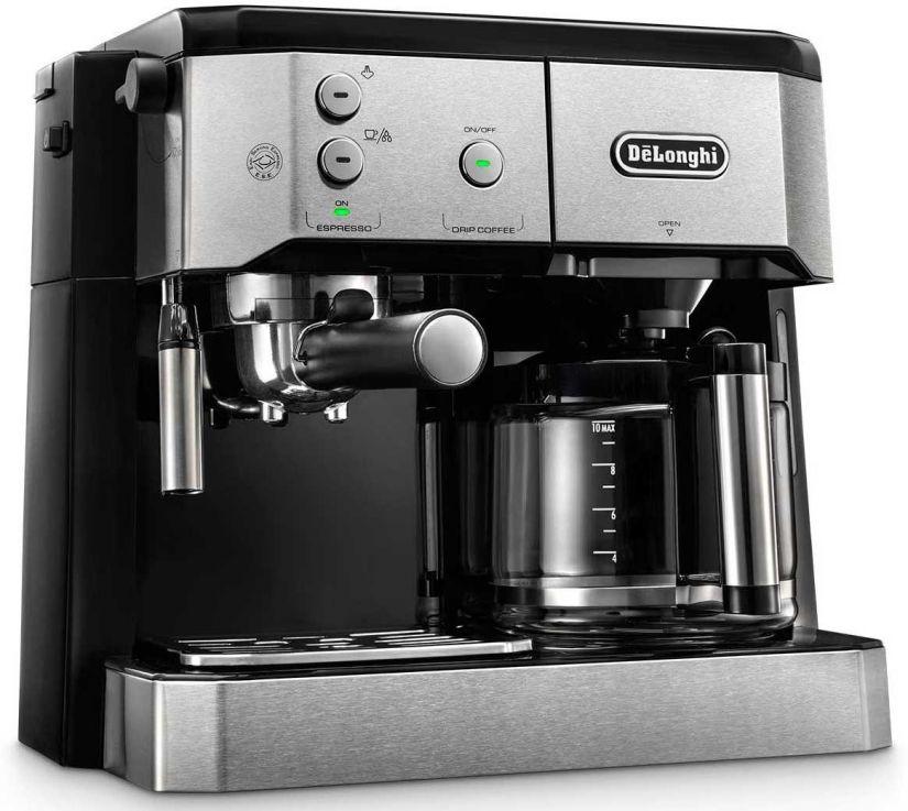DeLonghi BCO421.S Combi kombinationsbryggare (espresso och kaffe)