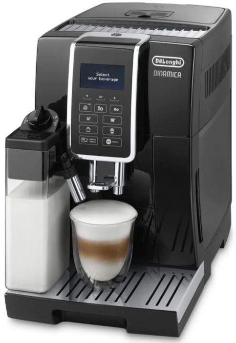 DeLonghi ECAM350.55.B Dinamica kaffeautomat, svart