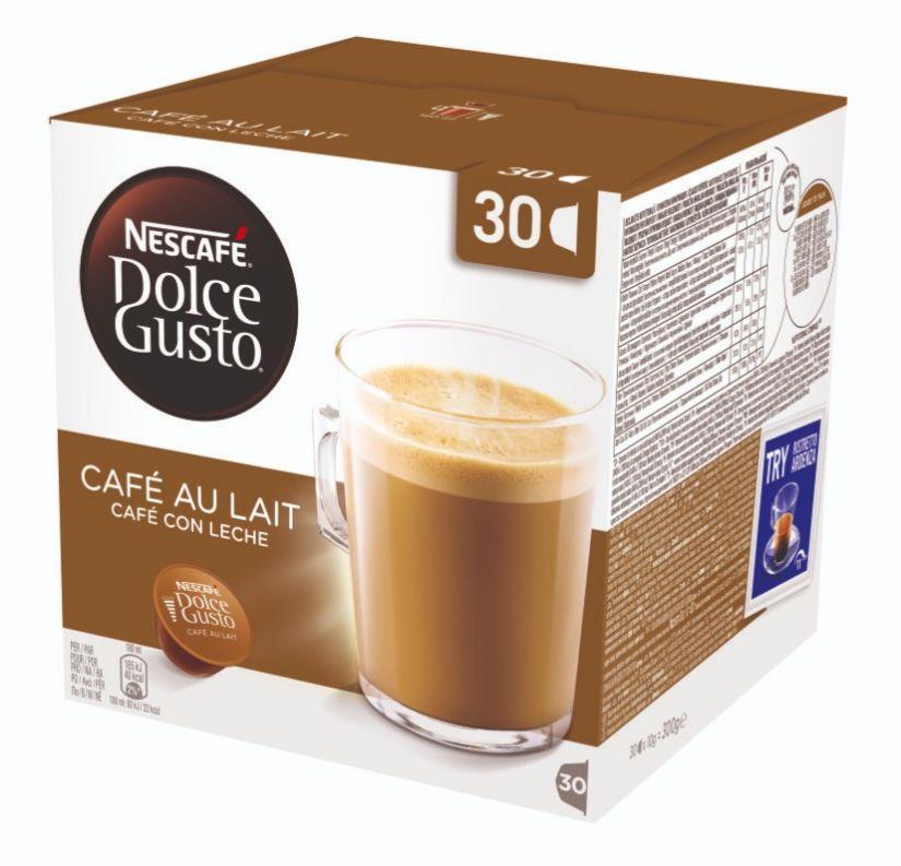 Dolce Gusto Café Au Lait -kaffekapslar 30 st