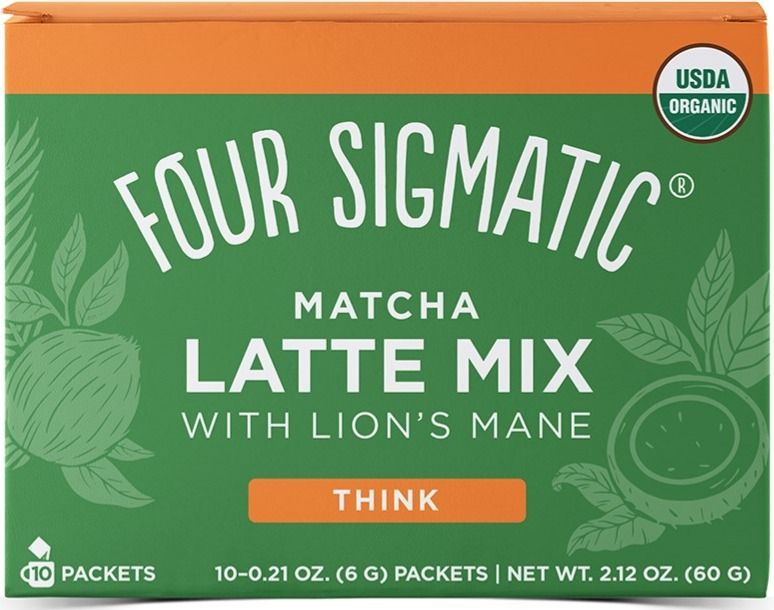 Four Sigmatic Matcha Latte With Lion's Mane, 10 portionspåsar