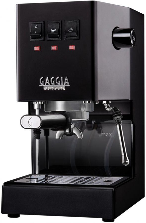 Gaggia New Classic espressomaskin, Thunder Black
