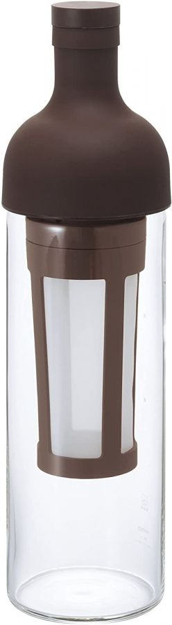 Hario Filter-In Coffee Bottle cold brew kaffeflaska 650 ml, brun