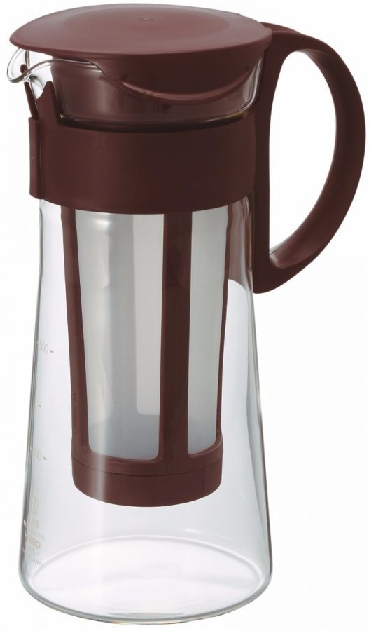 Hario Mizudashi Coffee Pot cold brew kanna 600 ml, brun