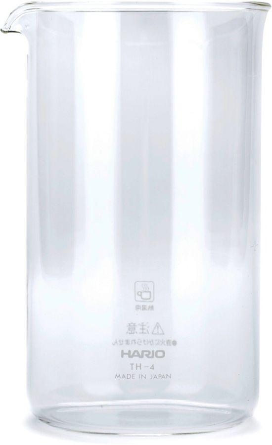 Hario TH-4 reservglas till pressobryggare, 4 koppar