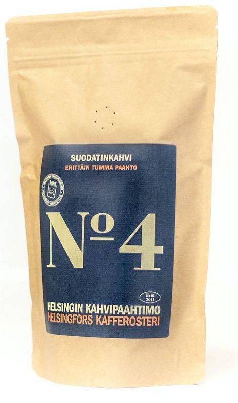 Helsingfors Kafferosteri Blend No 4 250 g kaffebönor