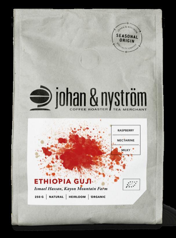 Johan & Nyström Ethiopia Guji 250 g kaffebönor