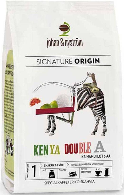 Johan & Nyström Kenya AA Kainamui 250 g kaffebönor