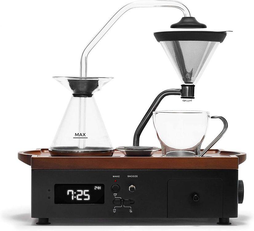 Joy Resolve Barisieur Coffee & Tea Alarm Clock, svart
