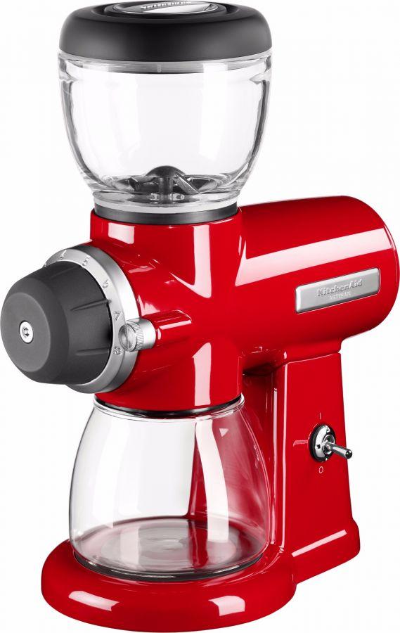 KitchenAid Artisan 702EER kaffekvarn, röd