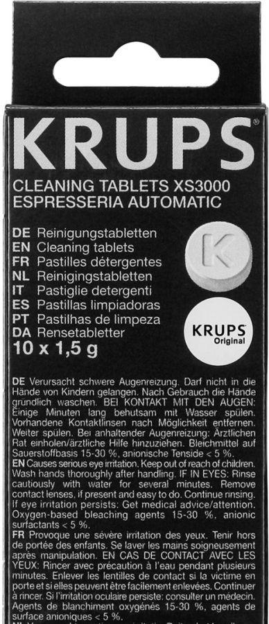 Krups XS3000 rengöringstabletter 10 st