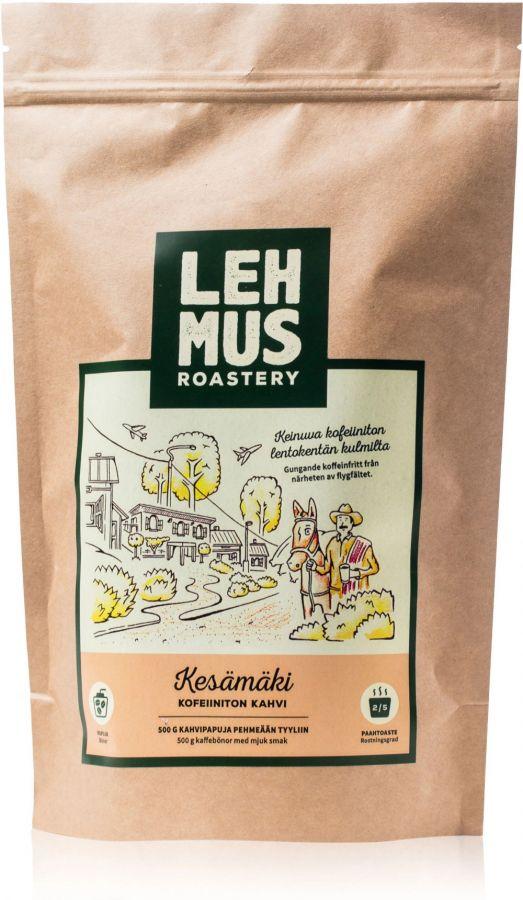 Lehmus Roastery Kesämäki koffeinfria kaffebönor 220 g