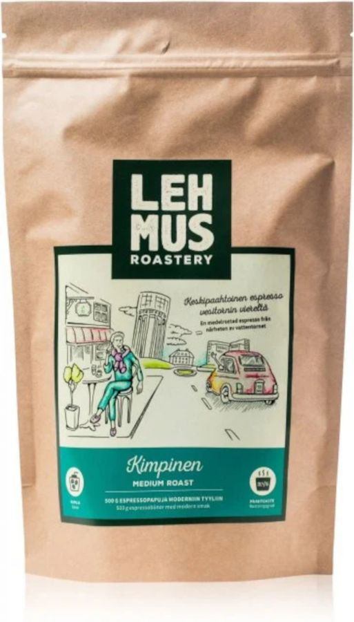 Lehmus Roastery Kimpinen espressokaffebönor 220 g