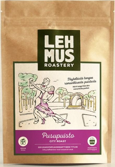 Lehmus Roastery Pusupuisto kaffebönor 220 g