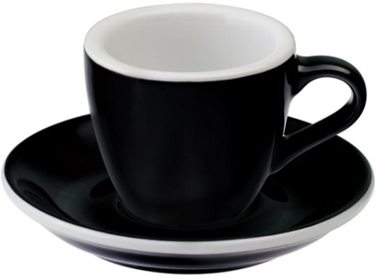 Loveramics Egg Black espressokopp 80 ml