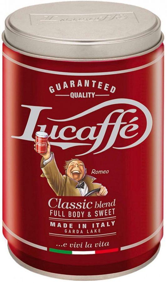 Lucaffé Classic 250 g malet kaffe