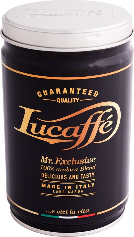 Lucaffé 100 % Arabica - Mr Exclusive 250 g kaffebönor