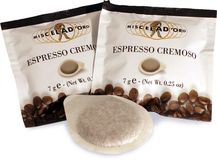 Miscela d'Oro Espresso Cremoso espresso pods 150 st