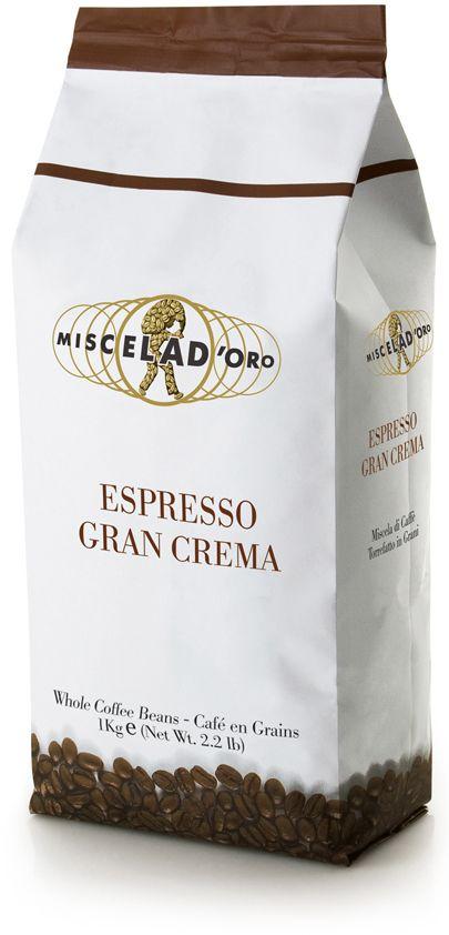 Miscela d'Oro Gran Crema 1 kg kaffebönor