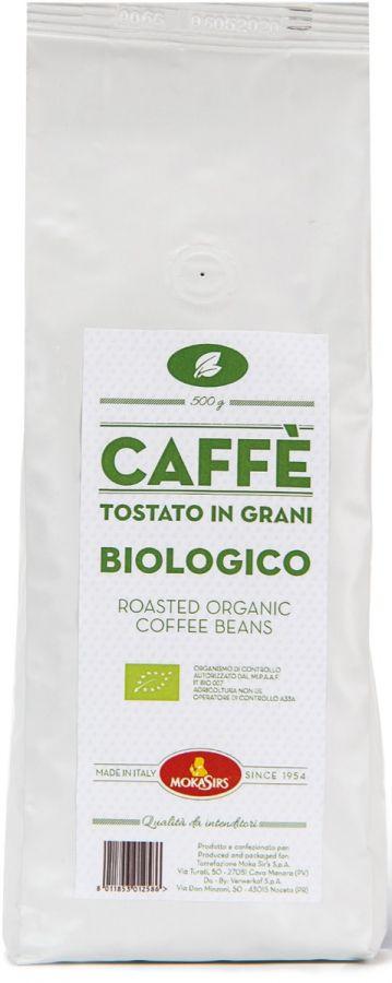 MokaSirs Caffè Bio 500 g kaffebönor